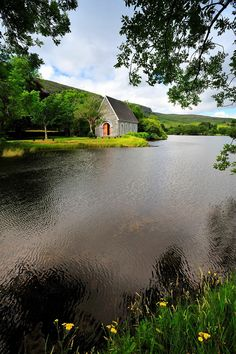 If Christ were not alive, we would face life-and then die with no hope of heaven. What a waste! | I Cor 15:19 | Gougane Barra, County Cork