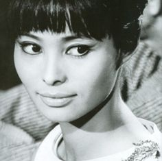 Akiko Wakabayashi - the first Japanese Bond girl in the 60s.