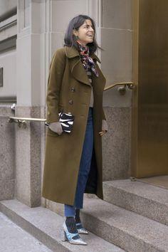 New York Fashion Week Street Style Tag 1: Leandra Medine von Manrepeller