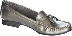 Mootsies Tootsies Womens Mallori Loafers-9.5,METALLIC PEWTER | 30.0% de réduction
