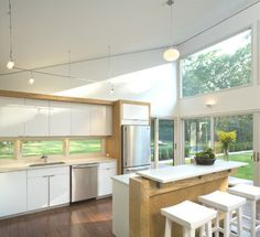houzz hamptons in the country living rooms  | The Granite Gurus: Whiteout Wednesday: Volume 12