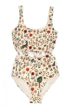 One-Piece Swimsuits to Pack for Your Warm-Weather Vacation This vintage-inspired print (featuring unicorns and medieval florals) avoids looking dated through the peek-a-boo twists at the waist. Fun One Piece Swimsuit, Lace Swimsuit, Buy Swimsuit, Lingerie Babydoll, Mode Cool, Böhmisches Outfit, Cute Bathing Suits, Vintage Bathing Suits, Bathing Suits One Piece