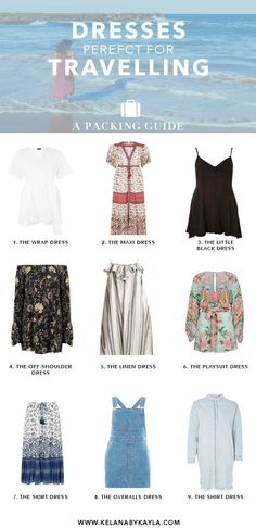 Dresses for Travel | Packing Tips | Packing Guide #travelparking
