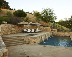 Mediterranean Pool Design, Pictures, Remodel, Decor and Ideas - page 2