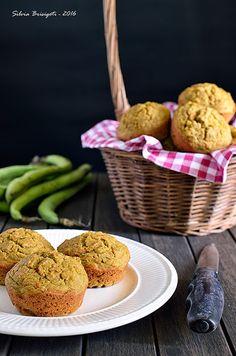 Mi piace e non mi piace: Muffins Salati con Farina di Riso Integrale e Gran...