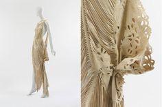 Some lasercut magic for you.  Friday Roundup: Laser Cut Fashion - Fashioning Technology