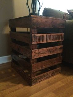 Exceptional Diy Pallet End Table   Google Search | Livingroom | Pinterest | Pallets,  Google And Searching