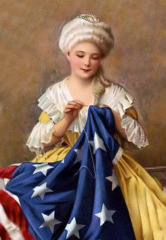 Betsy Ross, American flag