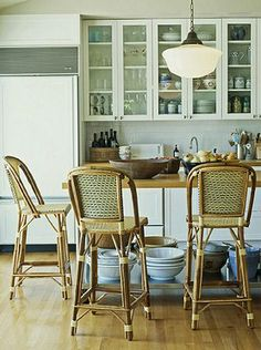 traditional french cafe chair client marla kitchen