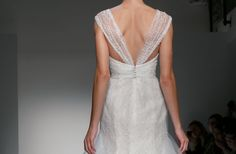 36 Wedding Dresses with Stunning Statement Backs from Fall 2013 Bridal Market | OneWed