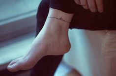 Ankle | 33 Perfect Places For A Tattoo