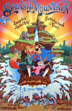 Disneyland Poster - Splash Mountain