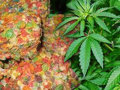 fruity pebble treat squares marijuana edible