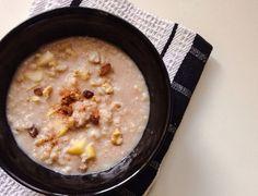Apple Cinnamon Rice Porridge, a recipe on Food52