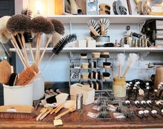 Brushes handmade by a staff of artisans at the Institute for the Blind in Berlin, Germany Berlin Shopping, Jersey City, Berlin Germany, Brushes, Blinds, Artisan, Lost, Handmade, Humor