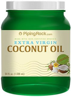 Certified Organic Extra Virgin Coconut Oil 54 fl oz Solid Oil *** You can find more details by visiting the image link. Best Coconut Oil, Extra Virgin Coconut Oil, Organic Coconut Oil, Organic Oil, Oil Pipe, Organic Formula, How To Make Smoothies, Thing 1, Oil Pulling
