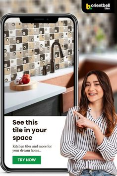 Trying to find the best tiles for your dream kitchen has never been easier. Curious to see how the SDH Cinza Grey tile will look in your kitchen? Use the Trialook visualiser tool to see the tile in your space. Or to explore from 100s of tiles.