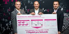 Huawei LTE mit 2Gbps bei T-Mobile in Österreich #Enterprise #News #4_5G