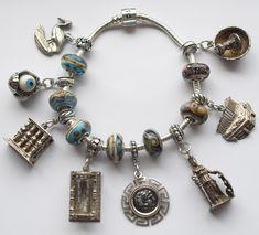 Greece Slider Bead Pandora Bracelet - Click Image to Close