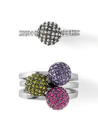 Share this with your friends and family for their holiday needs! These rings are so much fun and filled with sparkles. $38
