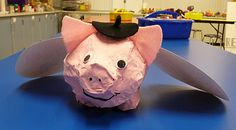 When pigs fly.... LOVE this idea