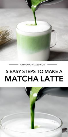 Matcha latte's are the perfect matcha green tea drink! My tips for easily making this latte at home are perfect for anytime! Grab this easy recipe and find out how to make a delicious tea latte at home! How To Make Matcha, Green Tea Drinks, Best Matcha, Matcha Green Tea Latte, Matcha Dessert, Green Tea Recipes, Latte Recipe, Tea Sandwiches, Coffee Recipes