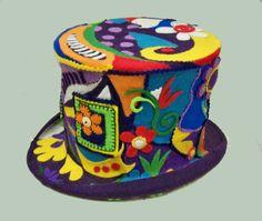 Felt Craft Top Hat by Nancy Mellon