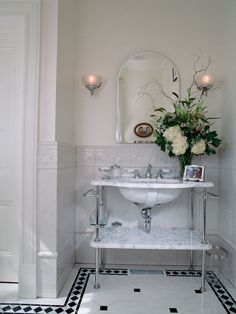 Bathroon Chrome Sconces Design, Pictures, Remodel, Decor and Ideas - page 48
