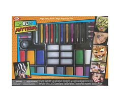 Alex Brands Ideal 80111BL Be Anything!  Mega Party Pack Face Painting Kit