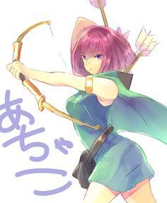 Archer -Clash of Clans by natashya-k