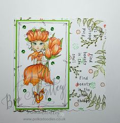 I've had so much fun during the last week helping out with the launch of The Darling Buds by the uber talented Nikky Hall . The Darling Buds, Art Journal Inspiration, Daffodils, Scary, Product Launch, Colours, Crafty, Fun, Tulip