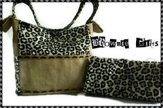 Hey, I found this really awesome Etsy listing at https://www.etsy.com/listing/166767684/brownie-gifts-leopard-and-burlap-diaper