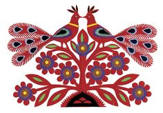 Polish folk art motif...