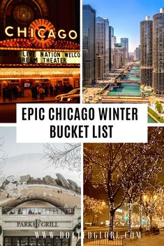 16 Best Things to do in Chicago in the winter by a local - Visiting Chicago in winter? Read our Chicago winter travel guide via Dotted Globe Road Trip Travel - Chicago Places To Visit, Chicago Things To Do, Visit Chicago, Chicago Travel, Chicago Chicago, Cool Places To Visit, Travel Usa, Places To Go, Chicago Girls