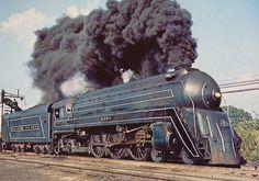 "B&O's  ""The Cincinnatian"" was the  exotic streamliner serving Baltimore and Cincinnati debuting in 1947."