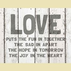 Light Box Insert - Love Puts the Fun in Together – ChristianGiftsPlace.com Online Store