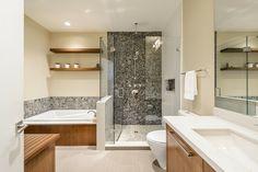 accents en bois pour votre salle de bains moderne