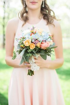 A Whimsical and Romantic Outdoor Wedding | Jessica Q Photography