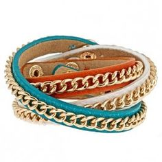Flash SALE going on NOW, the Milan bracelets that are so fun to mix and match {ten color options}! Edgy meets #preppy ! #SwellCaroline #FlashSale