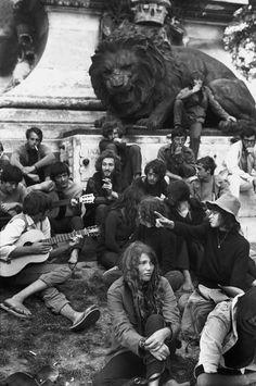 Henri Cartier-Bresson // France, Côte d'Azur. 1969. Town of Avignon.