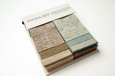 Pindler's NEW Essential Solids book includes an assortment of easy to use existing solid upholstery textures and chenille's. The textures in Essential Solids include a plush chenille, a heathered menswear solid, a tweed boucle, and a lustrous variegated chenille texture. This book includes top selling basics and neutral colors, in addition to new colors in brights and classics. All of the designs in this book meet 40,000 double rubs and higher.