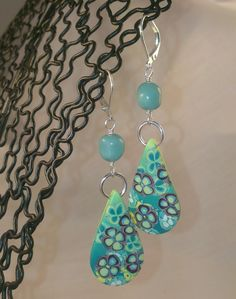 polymer earrings - listed on madeit.com
