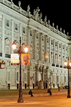 The Palacio Real de Madrid (literally: Royal Palace of Madrid) is the official residence of the Spanish Royal Family at the city of Madrid, but is only used for state ceremonies. King Juan Carlos and the Royal Family do not reside in the palace, choosing instead the more modest Palacio de la Zarzuela on the outskirts of Madrid http://pinterest.com/pin/347340189982482179/
