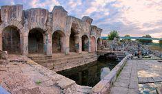 Resti delle terme romane di Fordongianus