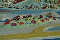 Flowers on Salvation Mountain
