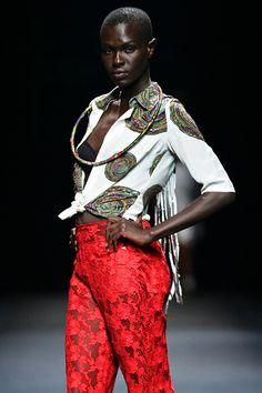 Ituen Basi: 2012 Mercedes-Benz Fashion Week Africa || Photo Credits: © SDR, Simon Denier