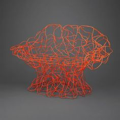 Corallo Chair, 2006  Bent steel wire and epoxy paint  Campana Brothers (Brazilian, founded circa 1983)  Fernando Campana (Brazilian, born 1961) and Humberto Campana (Brazilian, born 1953)  Manufactured by Edra (Italian, founded 1987)