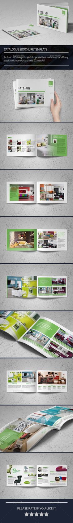 Product Catalogs / Brochure Template #design #brochure Download: http://graphicriver.net/item/product-catalogs-brochure-/11454866?ref=ksioks