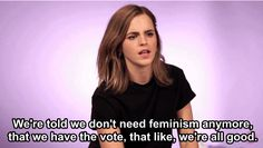 "When she <a href=""https://www.buzzfeed.com/lindsayfarber/emma-watson-loves-kittens-and-we-love-emma-watson?utm_term=.aoYoBrorWN#.ac95p454gl"">explained</a> that there are definitely still problems with feminism in 2017."