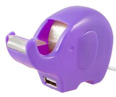 Elephant tape dispenser & USB port all in one!